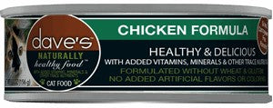 Daves Pet Food Naturally Healthy, Chicken Formula 24/5.5oz