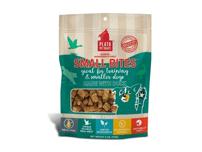 Plato Pet Treats Small Bites Roasted Duck