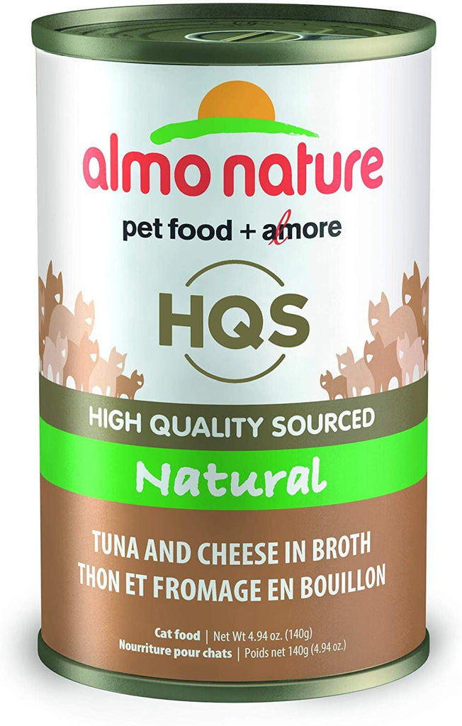 46224 Almo Nature USA Natural Tuna with Cheese 24/4.94oz
