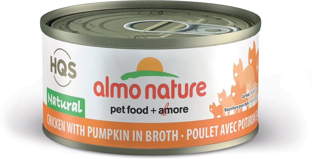 46201 Almo Nature USA Natural Chicken with Pumpkin 24/2.47oz