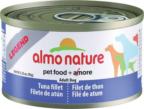 46277 Almo Nature USA HQS Dog Legend Tuna Fillet 24/3.35oz