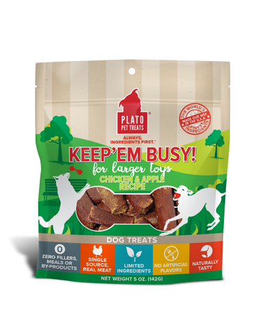 Keep'em Busy Chicken & Apple Treats