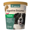 NaturVet Digestive Enzymes Plus Pro-biotics Soft Chew- 120 count
