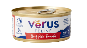 VeRUS Grain Free Beef Pate Formula Canned Cat Food 24 pk/5.5 oz cans