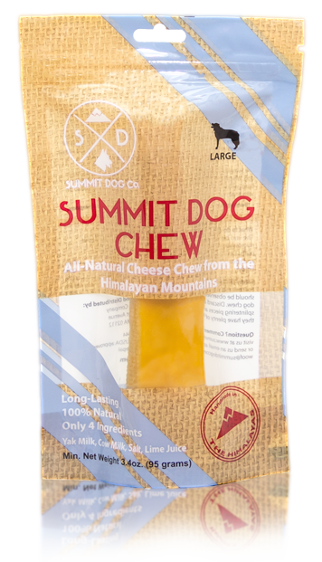 Summit Dog Chews Medium Himalayan 2 ct - Multi-pack - Dogs up to 30-35 lbs - 4.8 oz Bag