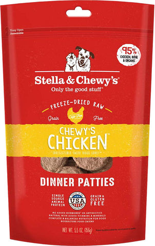 Stella & Chewy's Freeze Dried Raw Chewy's Chicken Dinner Patties