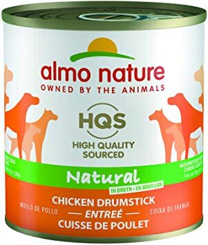 Almo Nature USA HQS Dog Naturals Chicken Drumstick