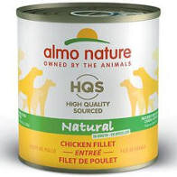 46281 Almo Nature USA HQS Dog Naturals Chicken Fillet 12/9.87oz