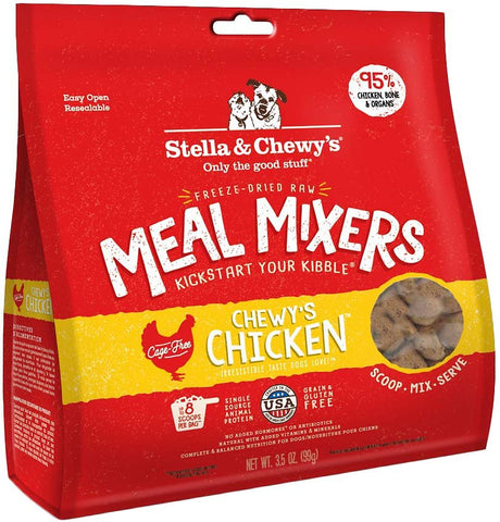 Stella & Chewy's Freeze Dried Raw Meal Mixers Food Topper Chewy's Chicken