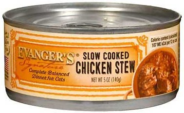 Evanger's Signature Series Feline Slow Cooked Chicken Stew Canned Cat Food-24 pk/5.5 oz