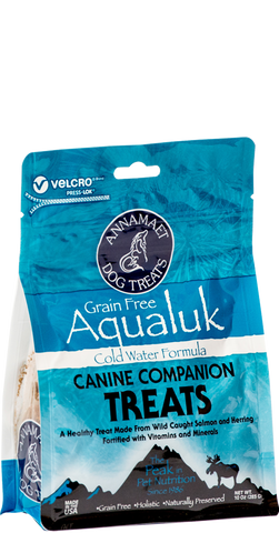 Annamaet Petfoods Grain Free Aqualuk  Dog Treats 10 oz Bag