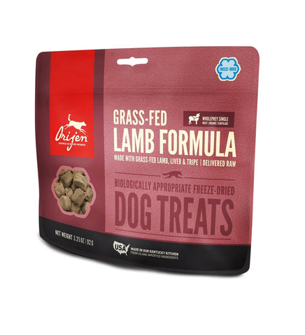 Orijen  Freeze Dried Dog Treats- Grass Fed Lamb