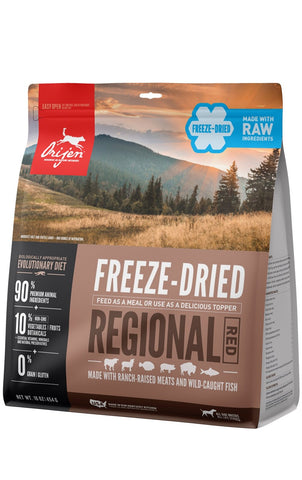 Orijen Regional Red Freeze Dried Dog Food 16 oz