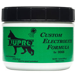 NUPRO Custom Electrolyte Formula for Dogs 1 lb Jar