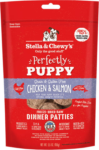 Stella & Chewy's Perfectly Puppy Chicken & Salmon Dinner Patties