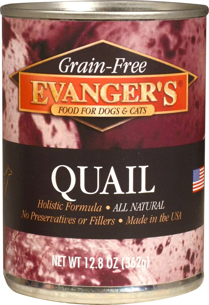 Evanger's Grain-Free Quail Canned Dog & Cat Food