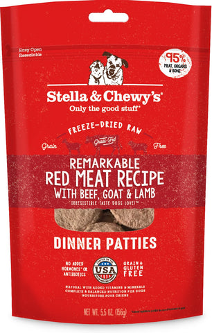 Stella & Chewy's Remarkable Red Meat Recipe Dinner Patties