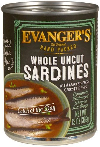 Evanger's Hand Packed Sardine Catch of the Day 12 pk cans/13 oz