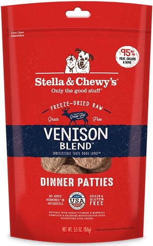 Stella & Chewy's Venison Blend Dinner Patties
