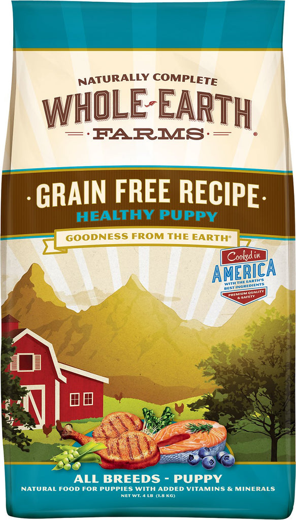 Earth Farms Grain-Free Healthy Puppy Food