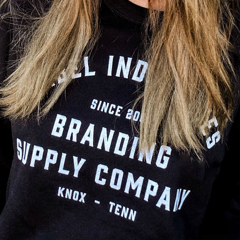 Label Industries Since 2001 Crewneck