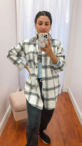 Not Average Oversized Flannel