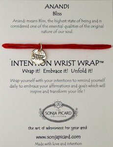 Gold Anandi Wrist Wrap - Bliss