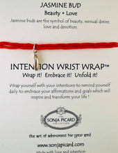 Load image into Gallery viewer, Gold Jasmine Bud Wrist Wrap - Beauty & Love