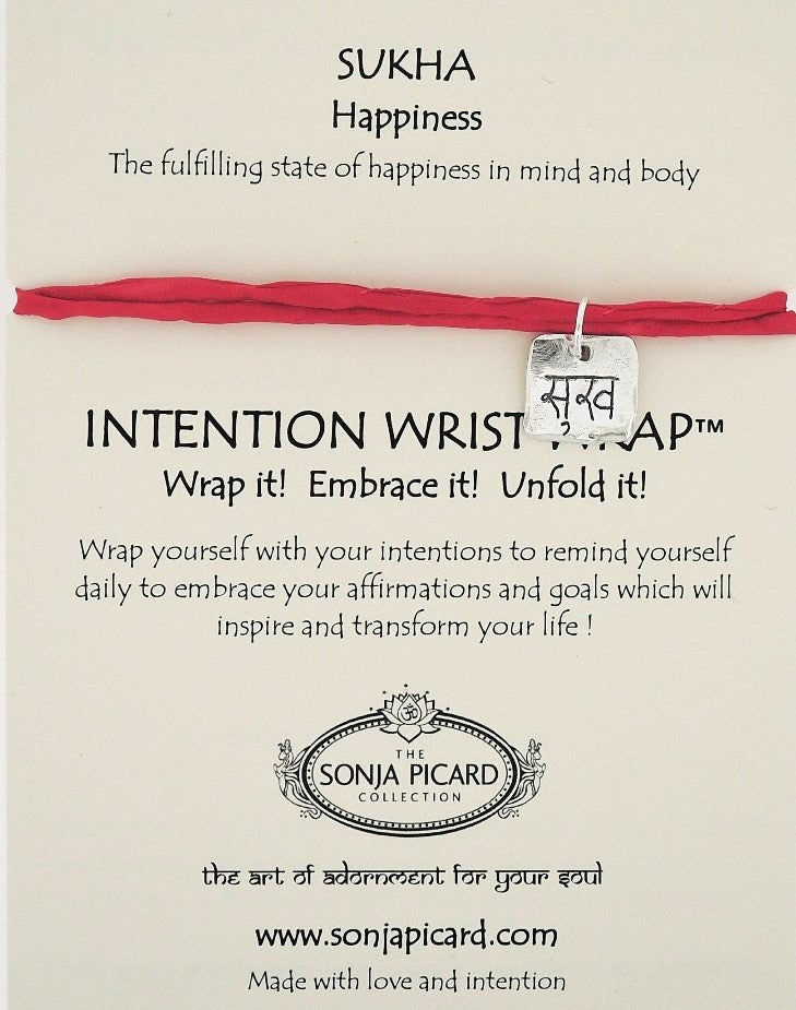 Sukha Wrist Wrap - Happiness