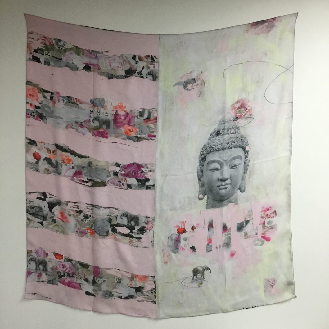 Deep Layers of Buddha Silk Scarf