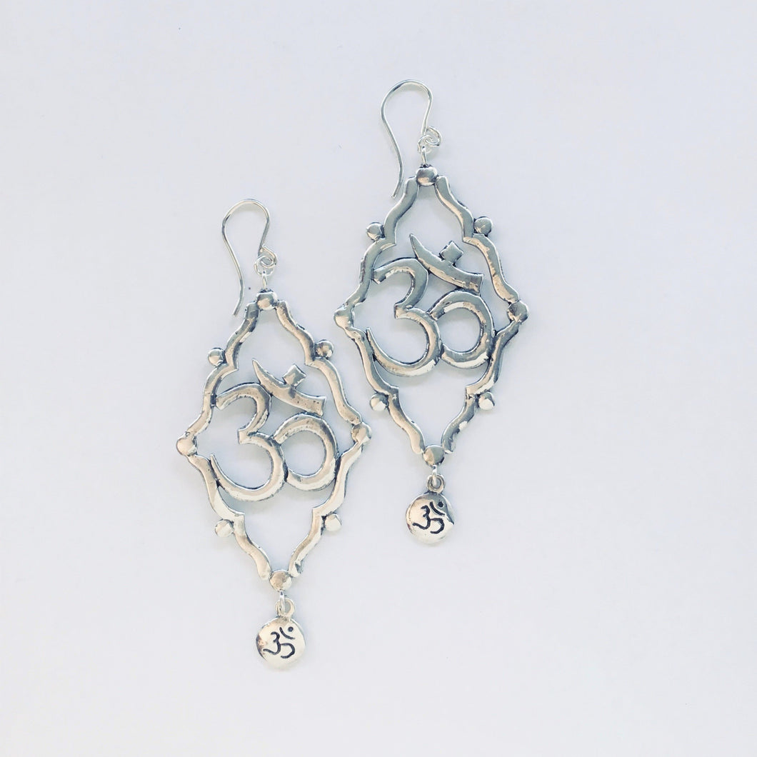 Shakti Om Earrings