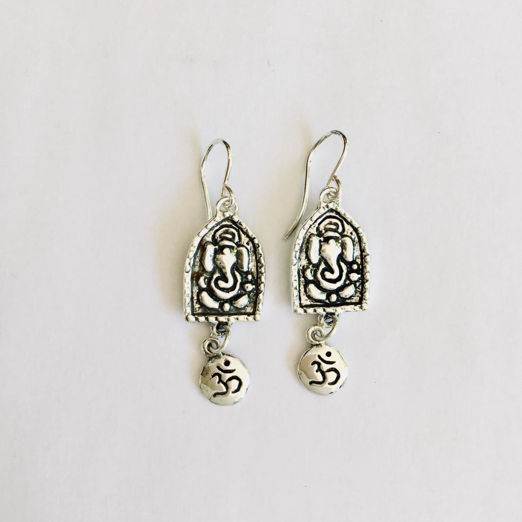 Ganesh Deity Earrings