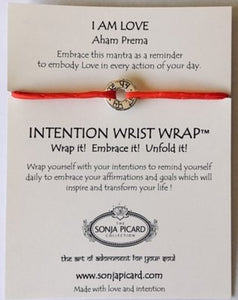 I Am Love Wrist Wrap - Aham Prema