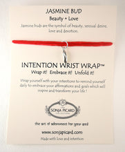 Load image into Gallery viewer, Jasmine Bud Wrist Wrap - Beauty & Love