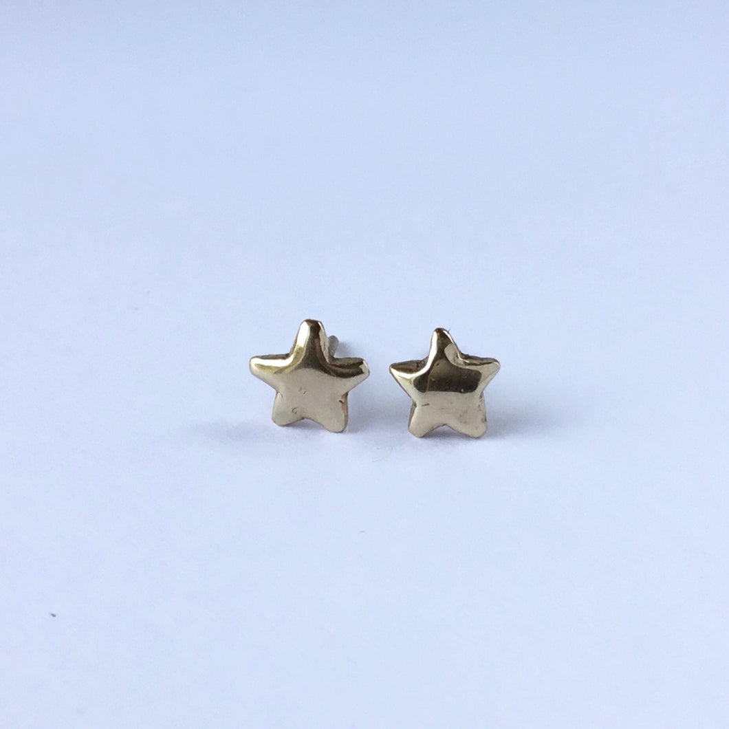 Teeny Tiny Star Stud Earrings