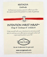 Load image into Gallery viewer, Kritagya Wrist Wrap - Gratitude