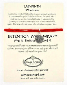 Labyrinth Wrist Wrap - Wholeness