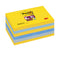 Blocco foglietti Post it® Super Sticky - colore New York - 76 x 127 mm - 90 fogli - Post it®