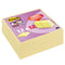Post-It Super Sticky - 47,6x47,6 mm - giallo Canary™ - Post-It - promo pack 12 + 12 pezzi