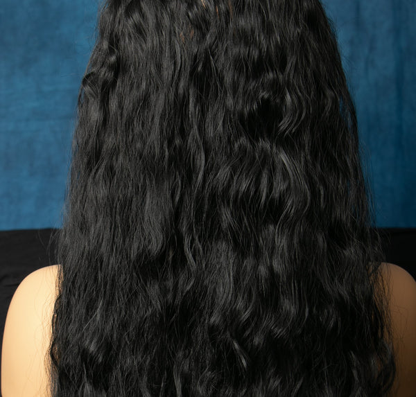 "Black Curly 14""  1B Color"