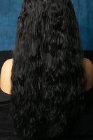 "Black 24"" curly Color 1B"