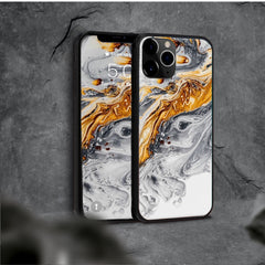 Resin Art iPhone Case with Live Wallpaper Collection