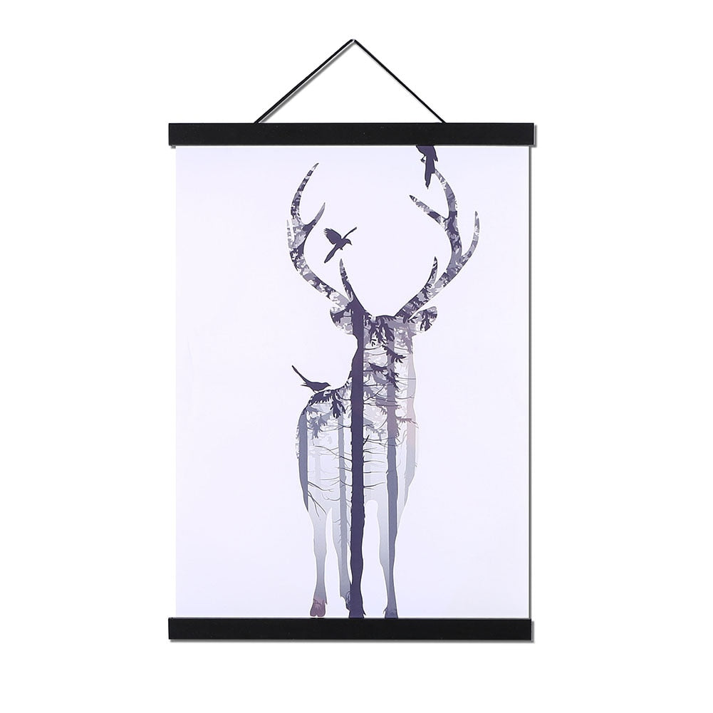 Magnetic Hanging Art Frame