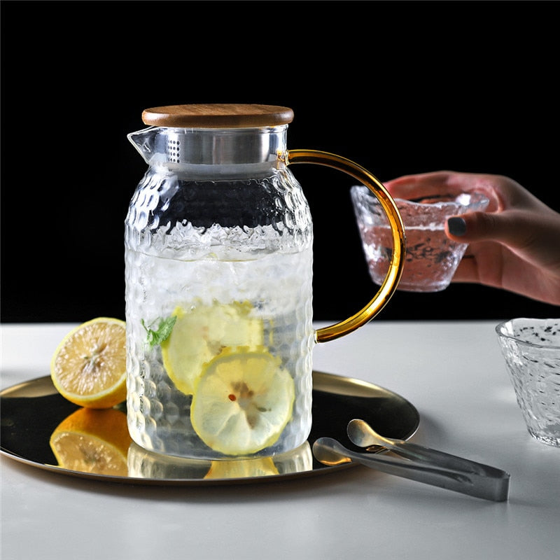 Heat Resistant Jug and Glass Set
