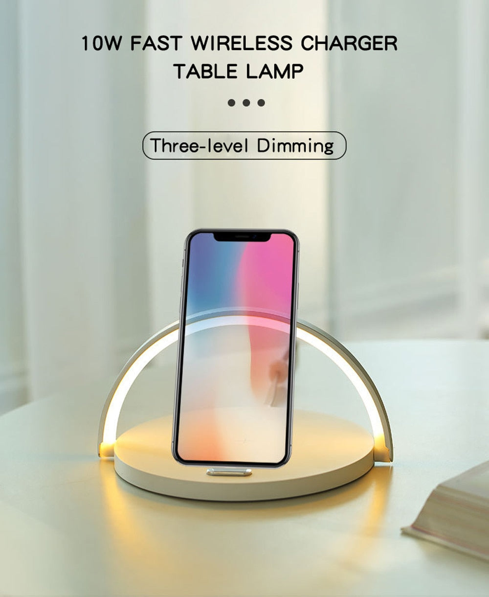 Night Light and Wireless Charging Lamp