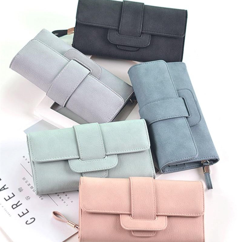 Minimalist Felt-Texture Clutch Purse Collection