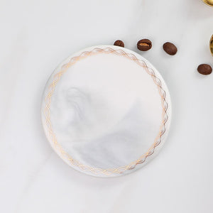 Marble Gold Coffee Coasters