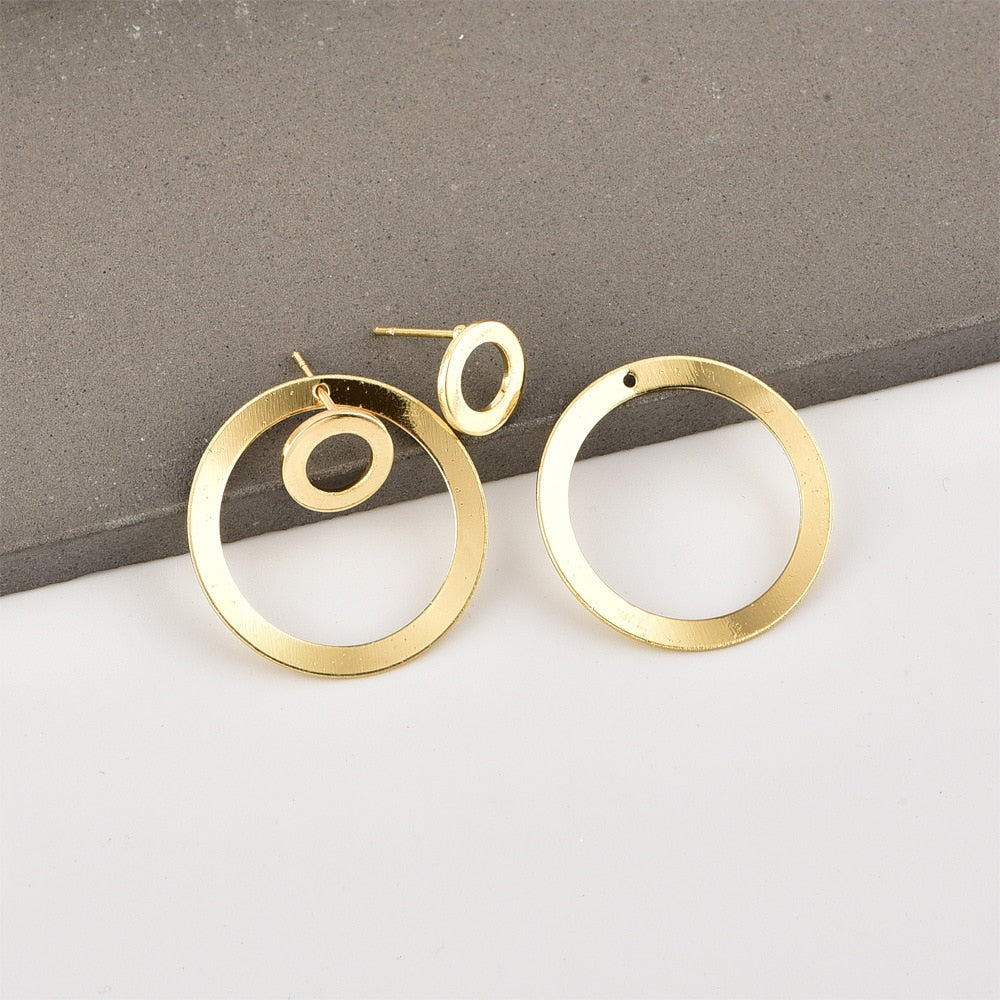 Minimalist Gold Earrings