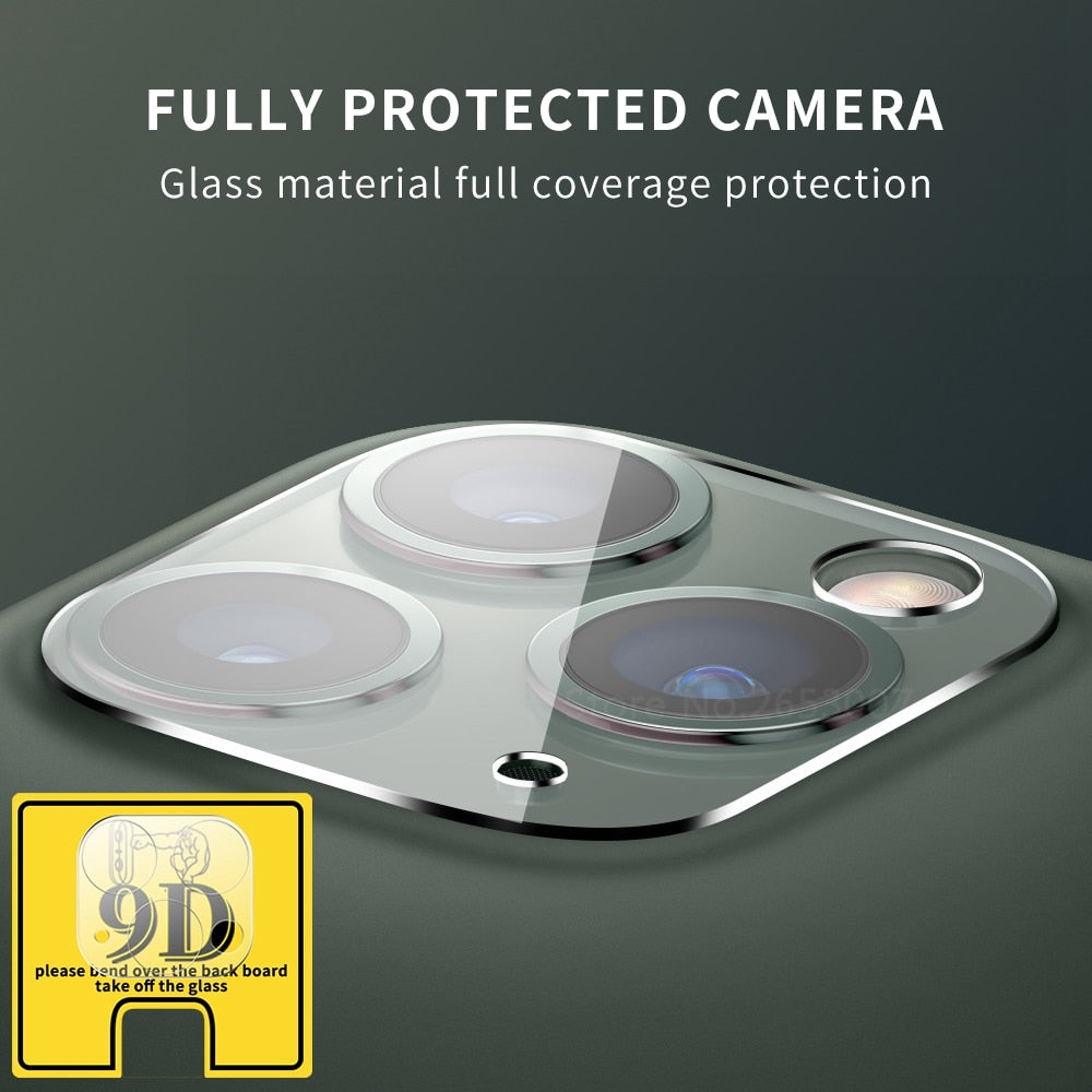 iPhone Camera Tempered Glass Protector