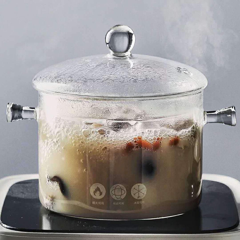Clear Kitchen Soup Pot
